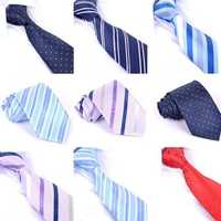 Men's Business Arrow Type Jacquard Pattern Ties
