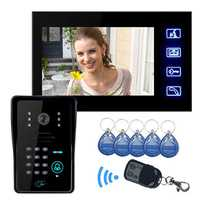 ENNIO SY806MJIDS11 Touch Key LCD Video Door Phone IR Camera & Code Keypad