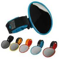 Bike Rear View Flexible Mirror Cycling Handlebar Glass 5 color