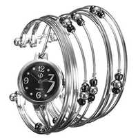 Casual Thin Strips Alloy Band Student Women Bracelet Watch