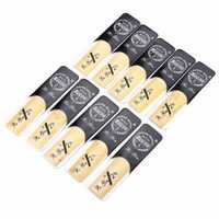 10pcs XZ-AS09 Arundo Donax Reeds for Alto Saxophone