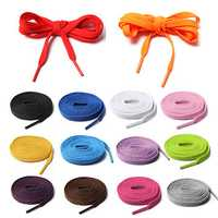 14 Kinds Of Colourful Athletic Shoelaces For Sport Sneakers Flats