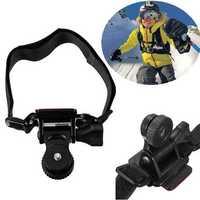 Bicycle Helmet Mount Holder Bracket For Gopro Hero 1 2 3 Xiaomi Yi SJ4000 SJ5000 SJcam