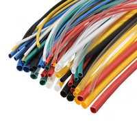 DANIU 70pcs 20cm 5size 7color Polyolefin Heat Shrink Tube Sleeve Wrap Wire