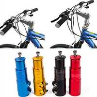 Bicycle Bike Handlebar Fork Stem Extender Riser Head Up Adapter