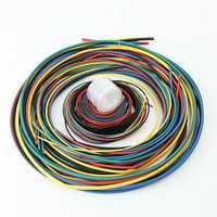 11 Size 6Color 55M/Set Polyolefin 2:1 Halogen-Free Heat Shrink Tubing