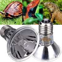 E27 Reptile Halogen Spotlights Warm Basking Full Spectrum UVA UVB Bulb