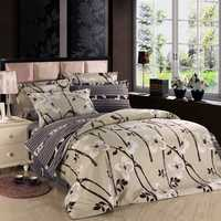 3 Or 4pcs Cotton Taffeta Legends Flower Reactive Printed Bedding Sets