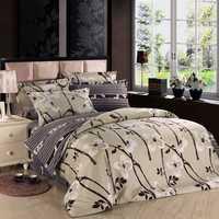 3 Or 4pcs Cotton Taffeta Legends Flower Reactive Printed Bedding Sets