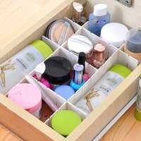 Drawer Clapboard Divider Cabinet DIY Storage Box Organizer