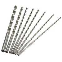 4mm To 10mm Diameter Extra Long HSS Auger Twist Drill Bit Straigth Shank 200mm