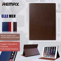 Original Remax Magnetic Smart Sleep Awakening Leather Protection Case Cover For iPad Air 2