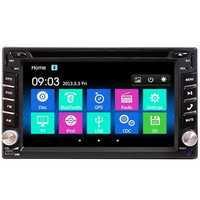6.2 Inch Double 2DIN Car Stereo DVD Player bluetooth GPS Navigation HD USB TV Camera