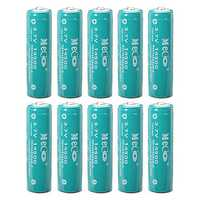 10pcs MECO 3.7V 1200mAh Rechargeable 14500 Li-ion Battery