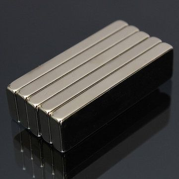 5pcs N52 40x10x4mm Strong Block Magnets Rare Earth Neodymium Magnets