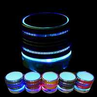 LED Portable bluetooth Wireless FM Stereo Speaker For iPhone Smartphone Laptop Tablet