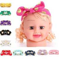 Baby Bowknot Rabbit Ears Knot Dot Pure Cotton Headbrand Hair Band Hair Accessory