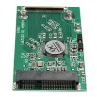 mSATA PCI-E SSD To 40Pin ZIF CE Cable Adapter Converter Card