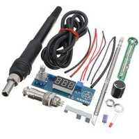 DANIU Digital Soldering Iron Station Temperature Controller Kits for HAKKO T12 Handle