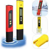 LCD Protable Digital PH Meter Tester Aquarium Pool Water Wine Urine Pen Monitor