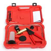 Hand Held Brake Bleeder Tester Set Bleed Kit Vacuum Pump Fluid Reservoir Tester