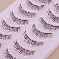 10 Pair Natural False Eyelashes Eye Lash Makeup 010