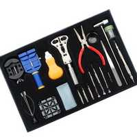 20pcs Wrist Watch Repair Tools Set Kits Pin&hand Remover
