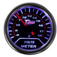 2 Inches 52mm Universal Digital LED 8-18V Car Voltage Gauge