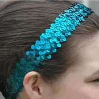 Sequins Stretchy Headband Elastic Hair Band