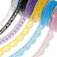 Plastic Hollow Lace Decorative Sticker Adhesive Tape