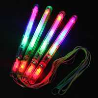 Multi Color 7 Modes LED Flashing Light Glow Wand Sticks Fun Supplies