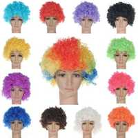 Adult Child Costume Curly Hair Wig