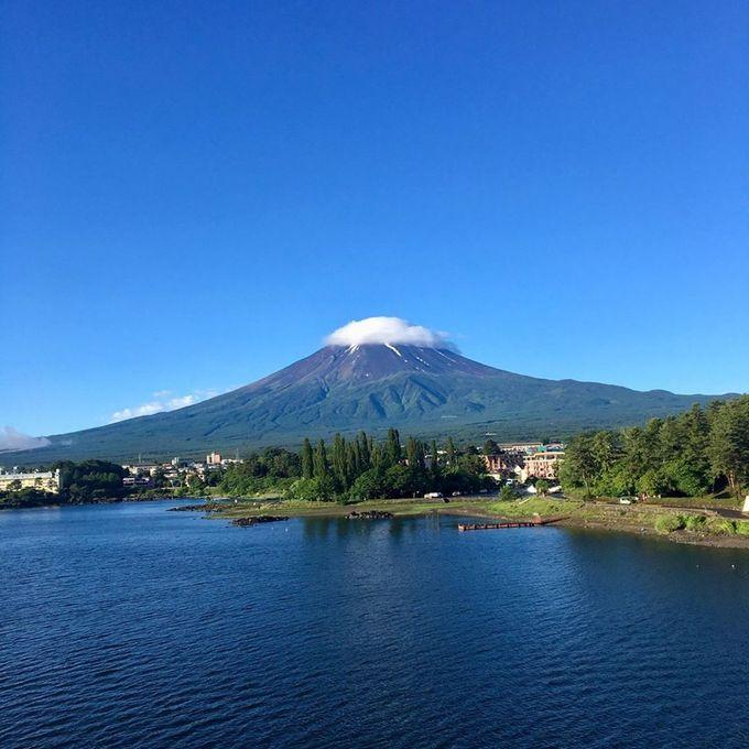 我坐了富士回遊從河口湖回新宿啊!