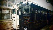 我終於坐上了九州的觀光列車了。