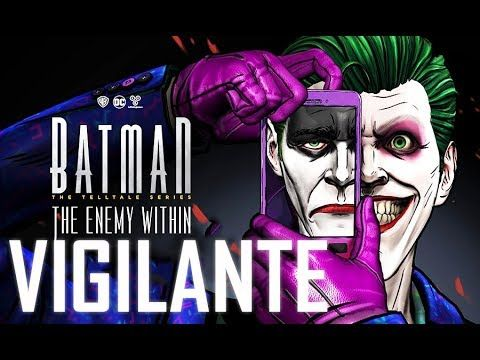 BATMAN: The Enemy Within FULL Episode 5 All Cutscenes (Vigilante Path) Same Stitch | Game Movie
