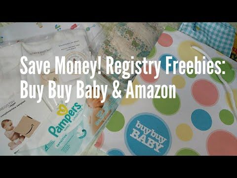 Save Money! Registry Freebies: Buy Buy Baby & Amazon