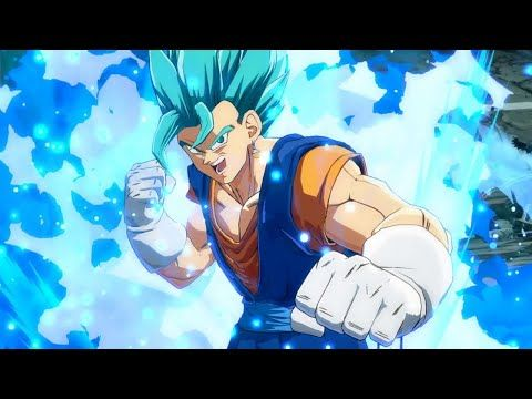 Dragon Ball FighterZ - Vegito SSGSS Character Trailer