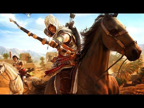 ASSASSIN'S CREED ORIGINS THE HIDDEN ONES All Cutscenes (DLC) Game Movie 1080p HD