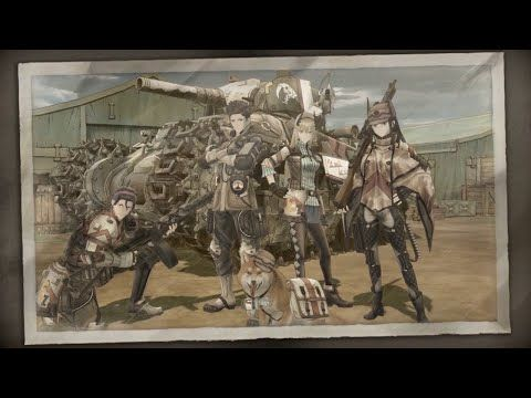 Valkyria Chronicles 4 - Squad Trailer