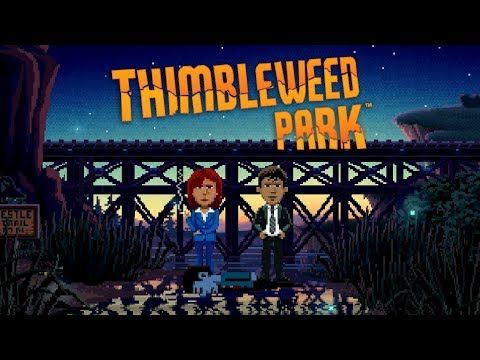 Thimbleweed Park ? Game Movie (All Cutscenes / Story Walkthrough) 1080p HD