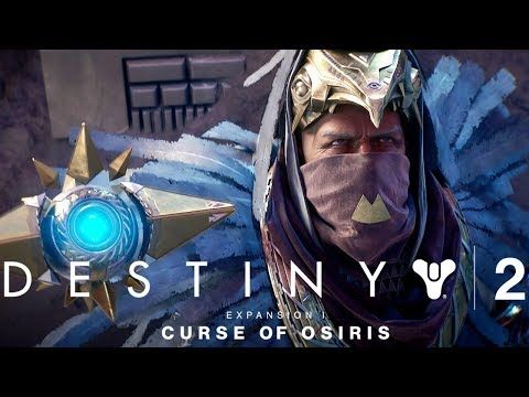 DESTINY 2: CURSE OF OSIRIS All Cutscenes (Game Movie) 1080p HD