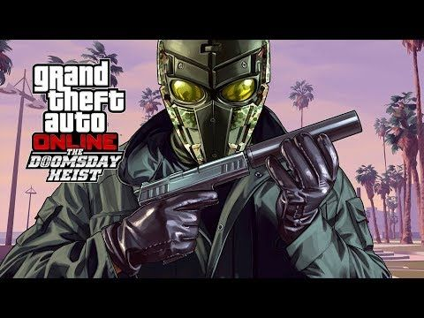 GTA V DOOMSDAY HEIST All Cutscenes (Game Movie) 1080p HD