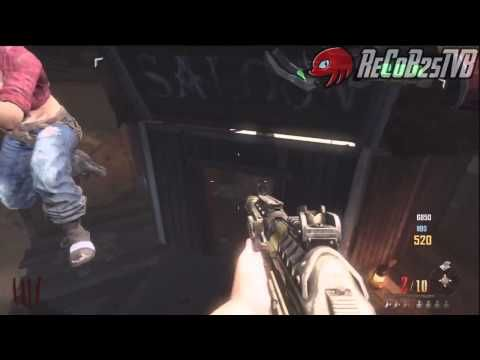 Truco Black Ops 2 Zombies BURIED Como Flotar encima del Bar + Barrera - By ReCoB,Poxe7 & CSE609