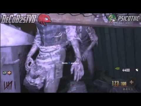 Truco Black Ops 2 Zombies BURIED Barrera Invencible Sofa cerca del Banco - By Psicotiic & ReCoB
