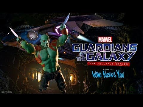 Guardians of the Galaxy ? Episode 4: Who Needs You ? Game Movie / All Cutscenes (Telltale)