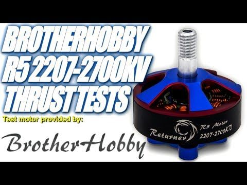 BrotherHobby R5 2207-2700KV - Superb Silky Smooth Motor!