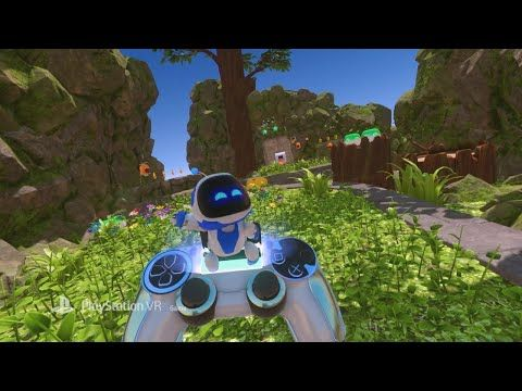Astro Bot Rescue Mission - Announce Video for PSVR