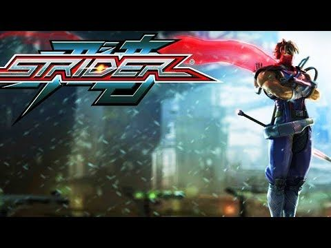 STRIDER (2014) All Cutscenes (Game Movie) Xbox One X Enhanced 60FPS