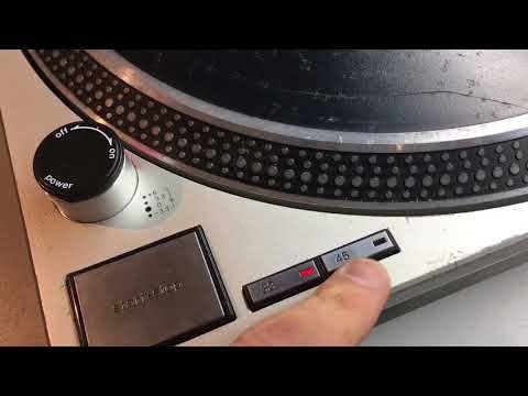 Buying a used Technics SL-1200 - motor issues, arm rest, and pop up lamp