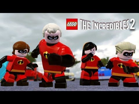 LEGO THE INCREDIBLES 2 All Cutscenes (Game Movie) 1080p 60FPS
